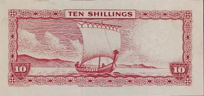Isle of Man banknote © Trustees of the British Museum
