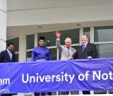 HRH Prince Charles visits University of Nottingham Malaysia campus