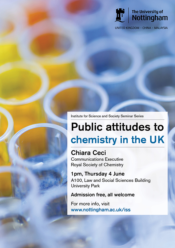 Public attitudes to chemistry poster
