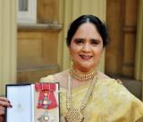 Dame Asha at Buckingham Palace