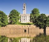 Highfields Lake with Trent Building in the background, University Park