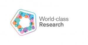 World class research logo final