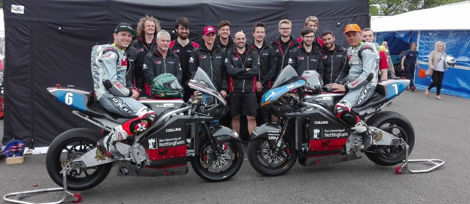 Electric Superbike Success At The Isle Of Man Tt Campus News