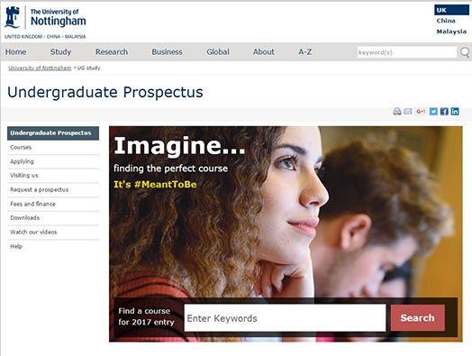 online prospectus