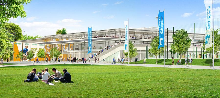 New University Park Sports Centre Campus News